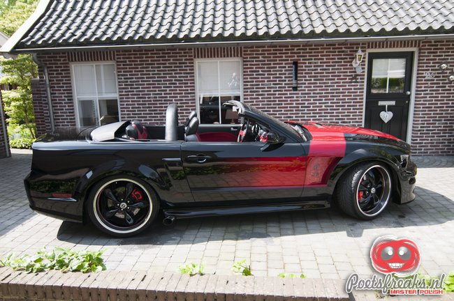 Ford Mustang GT Convertible - Second Skin 6 behandeling
