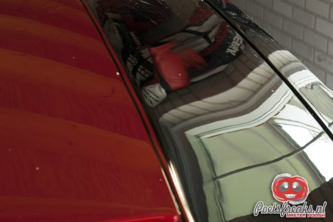 Ford Mustang GT Convertible - na 3-staps polijstbeurt