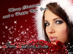 Dutch Car Detailing wish you all a merry Christmas & a Happy New Year.