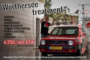 Woerthersee Treatment - Dutch Car Detailing Actie
