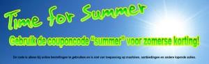 Zomeractie, zomerse kortingen bij Dutch Car Detailing
