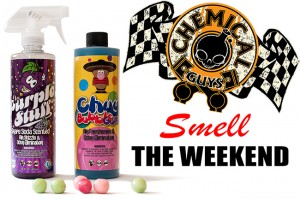Smell the new Chemical Guys Scents - Purple Stuff & Mr. Chuy Bubble Gum