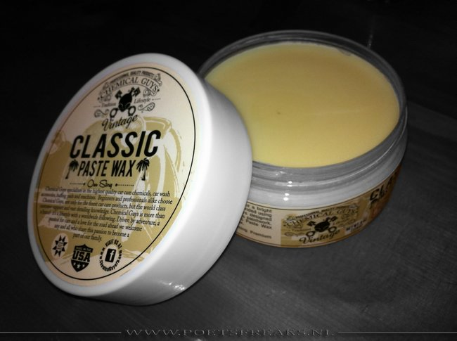 Chemical Guys Vintage Classic Paste Wax