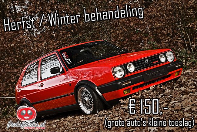 Poetsfreaks.nl Herfst/winter behandeling